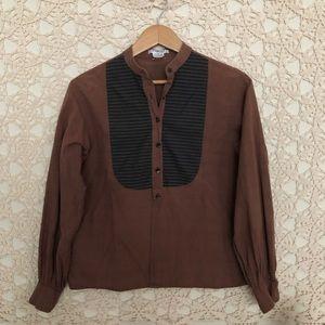 Vintage Saint Laurent Rive Gauche blouse